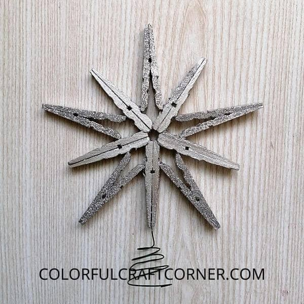 DIY Star Christmas Tree Topper