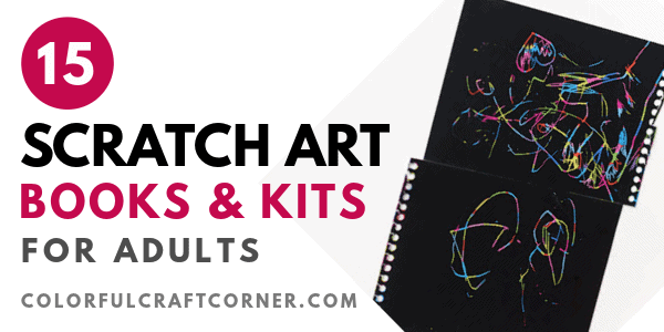 SCRATCH ART PAINTING FOR ADULTS